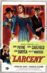 Larceny 1948 DVD - John Payne / Joan Caulfield